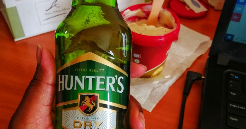 Hunters Dry Cider- A Review